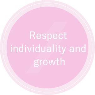 Respect individuality and growth