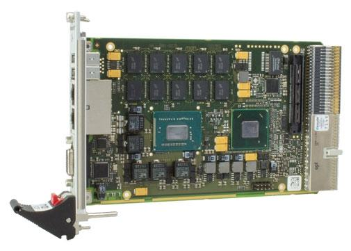 F22P - 3U Compact PCI Plus IO Intel Core i7 3th Gen